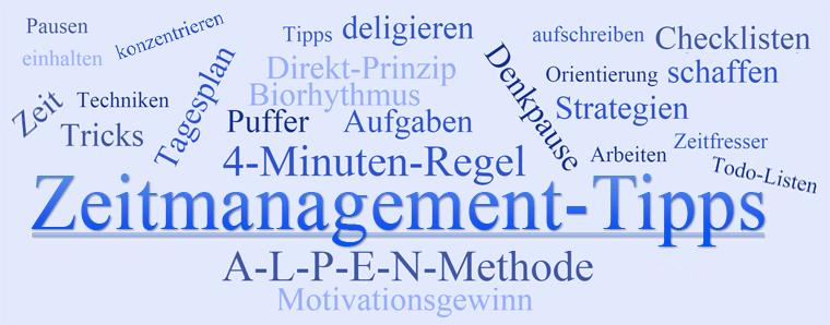 Zeitmanagement-Tipps